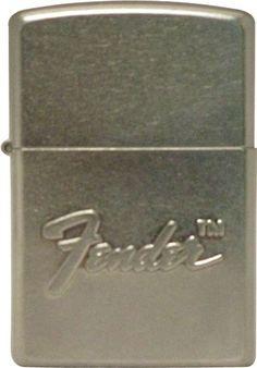 Fender Zippo Zippo Collection, Light My Fire, Zippo Lighter, Logo Stamp, Playing Guitar, Odd Stuff, Bass Guitars, Cigar, Ephemera
