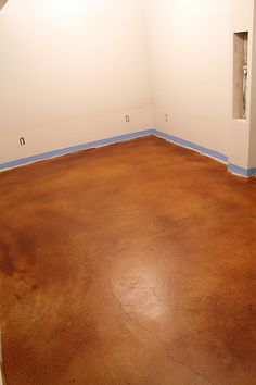to match our kitchen countertops, i would like to pull up a CRAPLOAD of carpet, skimcoat the plywood underneath with stained concretestained and let it crack...then wax it...