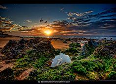 Dawn Rocks Puerto del Carmen Lanzarote HDR | Flickr - Photo Sharing!