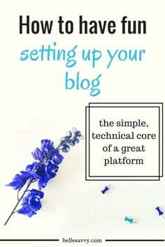 Tackle the technical side of setting up your blog with a bit of fun | BelleSavvy Choose Your Own Adventure Blog tutorial