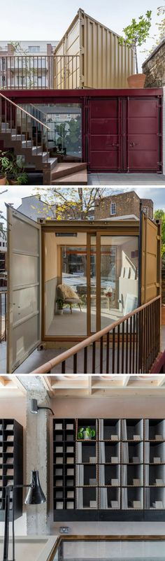 THE PORCELAIN GALLERY SHIPPING CONTAINER OFFICE