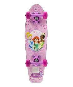 Take a look at this Pink Disney Princess Skateboard by Disney on #zulily today!