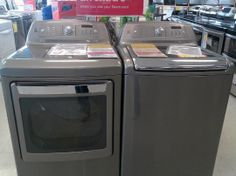 Brand new Kenmore Elite top load washer and dryer set at an AMAZING DEAL!