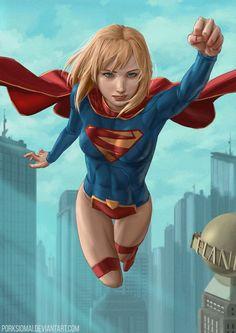 Image result for supergirl fanart