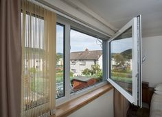 Discover Aluminium Windows from Conservatory Outlet. Our Replacement Aluminium Windows are thermally efficient and offer a contemporary feel to your property. Upvc Windows, Aluminium Windows, Windows And Doors, European Windows, Modern Windows, Latest Window Designs, Tilt And Turn Windows, Window Glazing, Thermal Comfort