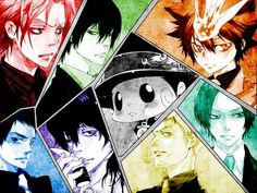 Its anime Tuesday guys. here some katekyo hitman reborn - Album on Imgur