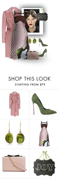 """Holiday Outfit - contest"" by gagenna ❤ liked on Polyvore featuring Reiss, Casadei, Jamie Joseph, Mary Katrantzou, See by Chloé and Home Decorators Collection"
