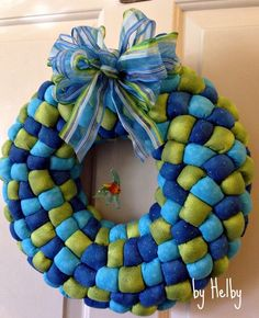 Ocean wreath by Helby