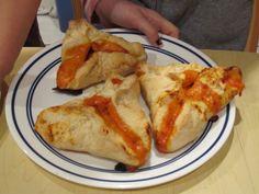 Purim Pizza Hamentaschen recipe