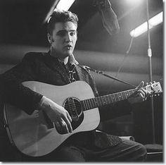 Elvis Presley - RCA Studios New York, 1956..