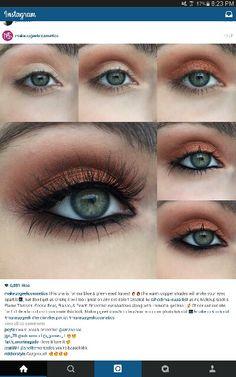 Augen Make Up Look