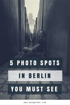 If you are planning a trip to Berlin in Germany you will want to know where you can make the best pictures for your Instagram or Blog. And I will tell you the 5 photo spots in Berlin you can't miss on your journey!