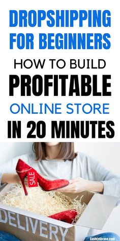 Dropshipping for beginners: if you're interested to start an online dropshipping business on Shopify, this article will show you how to do it step-by-step. The dropshipping can be a great way to make money online while you work from home. Make money dropshipping fast.#dropshipping#dropshippingforbeginners#makemoneydropshipping#startanonlinestore#makemoneyonlinedropshipping#onlinedropshippingbusiness Work From Home Jobs, Make Money From Home, Way To Make Money, Make Money Blogging, Make Money Online, Dropshipping Suppliers, Drop Shipping Business, Does It Work, How To Find Out