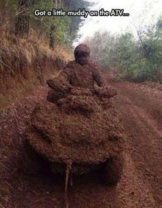 Four wheelers will never let ya down when it comes to fun!