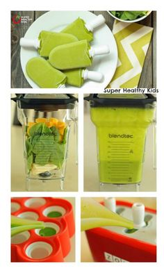 Green Frog Pops Recipe - We love hiding the vegetables in these yummy Green Frog Pops! http://www.superhealthykids.com/green-frog-pops/
