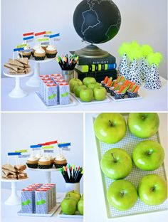 Sneak Peek at Paging Supermom's Back-to-School With Neon Party: (http://blog.hgtv.com/design/2013/07/22/sneak-peek-at-paging-supermoms-back-to-school-party/?soc=pinterest)