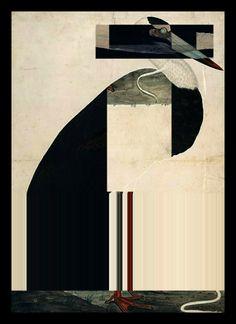 Stork Duet :: I (by studio Judith)