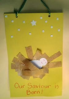 Easy Nativity Craft for Kids #Christmas