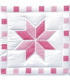 Jack Dempsey Stamped White Quilt Blocks xxx Stars at Joann.com