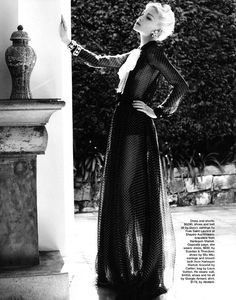 Editorial: Wallis Simpson serves as inspiration for Marie Claire Australia, November 2011 - Rougeberry Fashion
