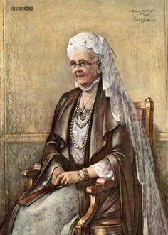 willy sluiter kunstschilder   Onbekend   Koningin-moeder Emma [Adelheid Emma Wilhelmina Theresia ...