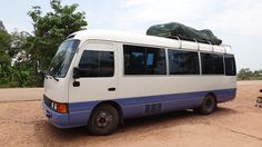 The Mini Bus from Vang Vieng to Vientiane