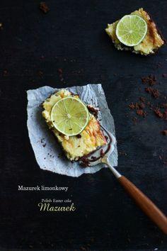 BAYADERKA- food recipes and photos. Blog kulinarny. pomysły na ciasta, desery i inne.: Mazurek limonkowy/ Polish Easter cake ''Mazurek''