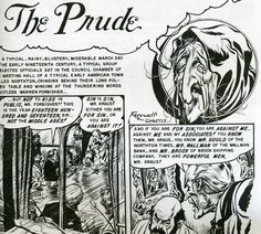 horror comic book pages 1950s | ... the pages of EC comics, both editorially and the actual comical pages