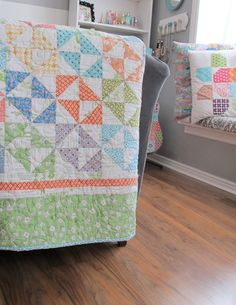 Bee In My Bonnet: Saltwater Taffy Quilt Tutorial - Scrappy Happy Summer Sew Along!!! ...
