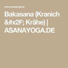 Bakasana (Kranich / Krähe) | ASANAYOGA.DE