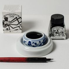 Indian Ink info.  2 types, checkout article. One is waterproof the other is not.