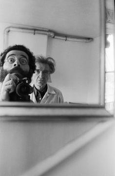 Vasco Szinetar with Emil Cioran, Paris,1982