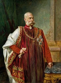 Kaiser Franz Joseph I was Emperor of Austria and Apostolic King of Hungary