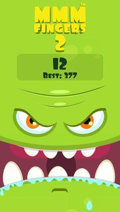 I scored 12 points in Mmm Fingers 2! Can you beat my score? #mmmfingers2