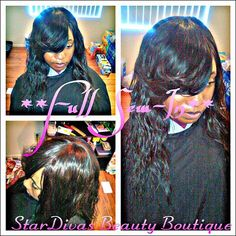 Full Sew-In! Stylist: Mz. Nikki