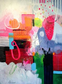 """See our site for even more details on """"contemporary abstract art painting"""". It is actually an excellent spot to find out more. Contemporary Abstract Art, Colorful Paintings Abstract, Abstract Oil, Motif Floral, Art Moderne, Hanging Art, Abstract Expressionism, Painting Inspiration, American Art"""