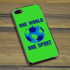 iPhone/Galaxy Case One World One Sport | Soccer Phone Cases ...