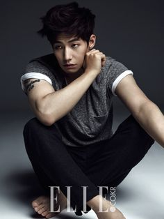 Сон Чжэ Рим 송재림 Song Jae Rim  - Elle 2014.08
