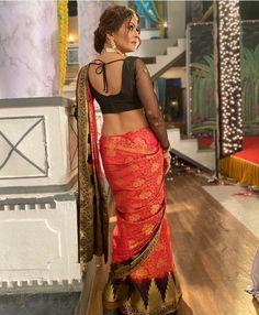 Saree Wearing Styles, Backless, How To Wear, Dresses, Fashion, Vestidos, Moda, Fashion Styles, Dress