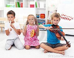 children with musical instruments - Поиск в Google