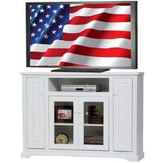 AmericanHeartland Deluxe TV Stand Finish: Yellow
