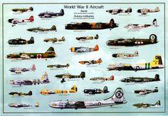aerei da guerra seconda guerra mondiale - Cerca con Google