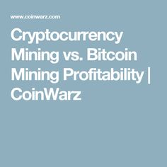 coinwarz com cryptocurrency