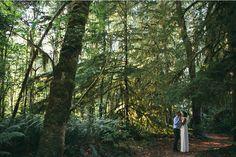 Forest wedding Oregon