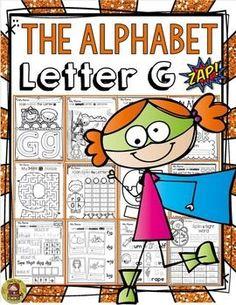 PHONICS: THE ALPHABET: LETTER G separate file featuring Australian/U.K. spelling included  www.teacherspayte...