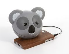 With 'I'm a celebrity..get me out of here!' about to hit our screens, we've made our cute koala portable speakers product of the week.    Light & portable, they plug in to all devices and phones, delivering great sound quality!    But unluckily for the celebs, theres no electricity in the jungle! So they can't take their koala speakers with them.. maybe we'll give them one each on their return to remind them of their adventures - as long as they complete all their bush tucker trials of…