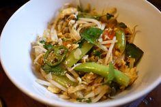 tarts & crafts: vegetable pad thai