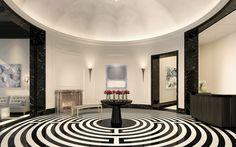 Tribeca Condominiums | 30 Park Place, Four Seasons Private Residences New York Downtown | Lobby