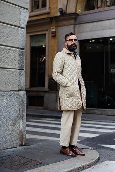 The Sartorialist / On the Street…Via Verri, Milan  // #Fashion, #FashionBlog, #FashionBlogger, #Ootd, #OutfitOfTheDay, #StreetStyle, #Style