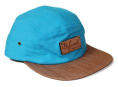 18bf87381ec Solid Blue   Bown 5 Panel Camo Bucket Hat